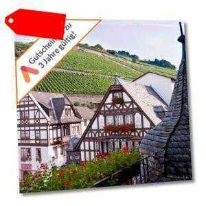 Kurzurlaub Rheingau 3 Tage im 4 Sterne Akzent Fachwerk Hotel 2 Personen Wellness
