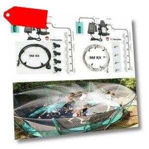 Kühlung Beschlagen System Garten Spray Sprinkler Kit Werkzeuge Zubehör