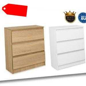 Schöne moderne Kommode mit 3 Schubladen Sideboard Anrichte Schrank
