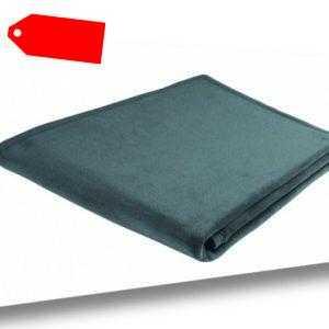 Microfaser Decke thermosoft uni smaragd Gr. 150x200 cm