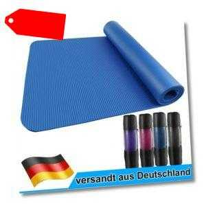 185 x 80 cm Yogamatte Fitnessmatte Gymnastikmatte Pilates Sportmatte Bodenmatte