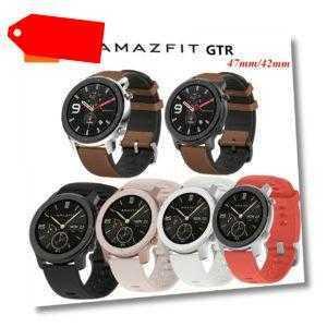 AMAZFIT GTR Smartwatch Armband 47mm/42mm Band Pulsuhr 5 ATM GPS Sportstrackuhr