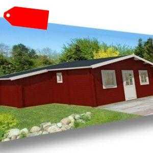Tene Ferienhaus Cervino 650x776cm Gartenhaus Freizeithaus Holzhaus Blockhaus