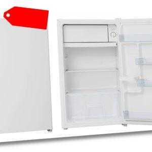 PKM Kühlschrank mit Gefrierfach A+ Eisfach Freistehend weiß 84,2 x...