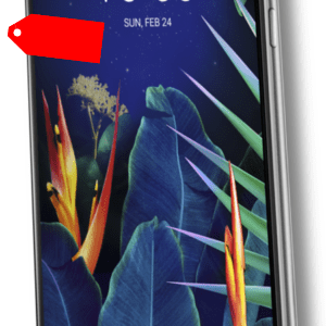 "LG K40 DualSim Platinum Grau 32GB LTE Android Smartphone Bluetooth 5,7"" 16MPX"