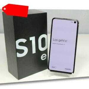 Samsung Galaxy S10e 128GB (Dual Sim) Ohne Simlock - Prism White