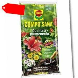 COMPO SANA® Qualitäts - Blumenerde 50 Liter