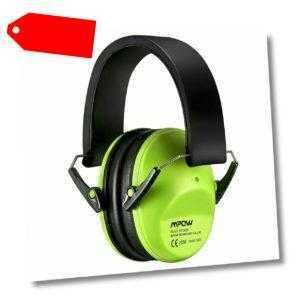 Mpow Gehörschutz KapselGehörschutz Gehörschutzstöpsel Ohrstöpsel Lärmschutz Grün