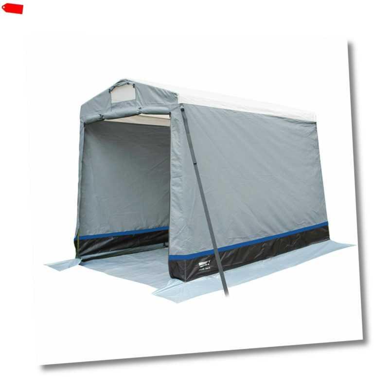 HIGH PEAK Multitent Lagerzelt Camping Küchen Zelt Umkleide Geräte Beistellzelt
