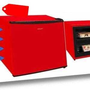 Gefrierbox A++ MIni Gefrierschrank 31 Liter 4-Sterne Rot...