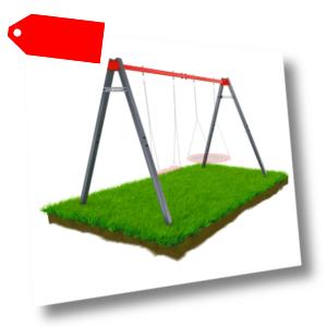 Gartenschaukel Schaukel Schaukelset mit Sitz und Nestschaukel von K-Sport