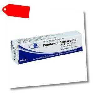 Panthenol Augensalbe Jenapharm 5g PZN 03524531