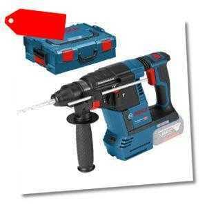 Bosch Akku-Bohrhammer GBH 18V-26 Solo ohne Akku&Ladegerät Clic & Go in L-Boxx