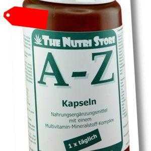 A-Z Multivitamin Mineralstoff Kapseln 150 Stk. - 5 Monatsvorrat - PZN 00134290