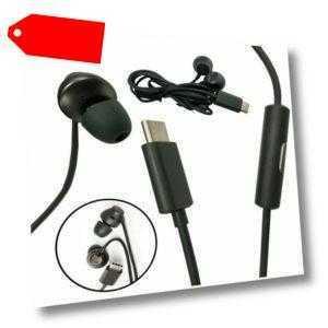 Für HTC U11 Kopfhörer Headset Headphone Type-C Earphone Mic USB Ladegerät Kabel