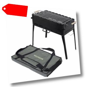 tragbarer Klappgrill Prometeo Q 8 VBR für Camping Mangal BBQ Schaschlik