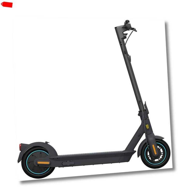SEGWAY E-Scooter Ninebot MAX G30D 20km/h E-Roller 65km Reichweite schwarz B-Ware