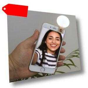 Led Mini Selfie Licht gold Handy Lampe Fotolicht Video Light für Makeup Youtube