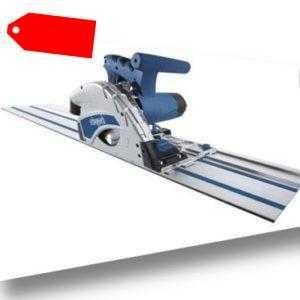 Scheppach Tauchsäge PL55 mit Führungsschiene 1200 W 5500 min-1 Handkreissäge
