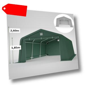 3x4 3x5 4x5 4x6 Zeltgarage Rundbogenzel Lagerzelt mobiler Unterstand Weidezelt