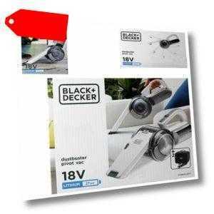 Black&Decker PV1820LAKIT Dustbuster Pivot Staubsauger Akku Handstaubsauger Tasch