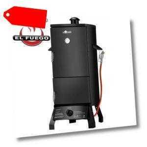 Barbecue El Fuego Gassäulengrill Smoker Portland BBQ Gasgrill Räucherofen