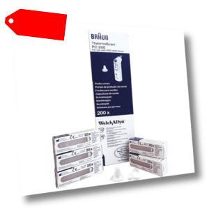 Schutzkappen für alle Braun ThermoScan Ohr Fieberthermometer Pro 3000,4000,6000