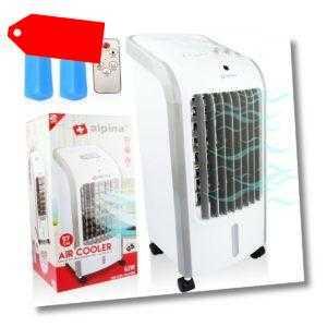 ALPINA ® 3IN1 Mobiler Luftkühler Raumkühler Luftbefeuchter Klimagerät Ventilator