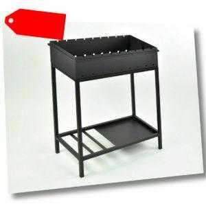 Mangal Ogonek Grillfläche 63x37 cm Schaschlik Grill, Stahl 2mm sehr stabil