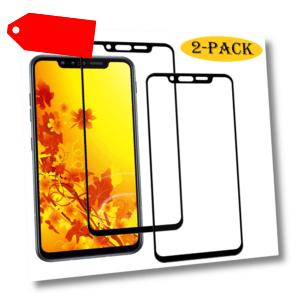 2x LG G8S ThinQ Panzerfolie Display Schutz Hart-Glas Folie Full Screen Cover 9H