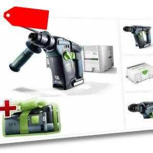 GRATIS AKKU Festool BHC 18 Li-Basic Bohrhammer 18V 574723 -  ohne Ladegerät