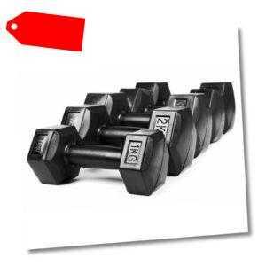 Hanteln Hantelset Aerobic Fitness Gewichte Set 2er Set 1-6kg Kurzhanteln Vinyl