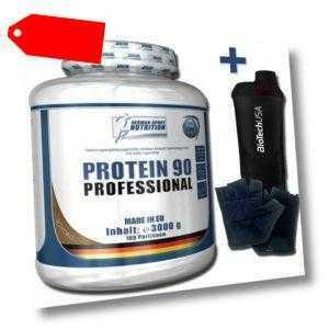 3 Kg Protein Professional 90  Eiweiss Complex mit Whey Isolat 3000 g Pulver