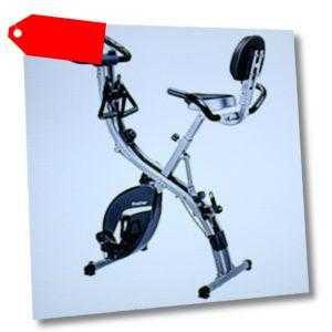 X-Bike Heimfahrrad Fitness-Fahrrad mit LCD-Monitor klappbar (G614S21N)