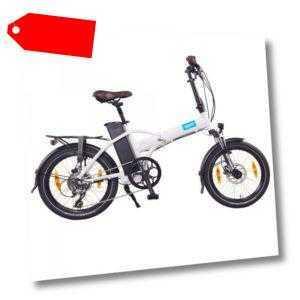 "NCM London+ 20"" E-Faltrad, E-Bike, Klapprad 36V 19Ah 684Wh weiß"