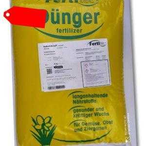 FertiTec®  Kalkstickstoff 25 kg Dünger für Garten Weide Obst Gemüse N 19,8