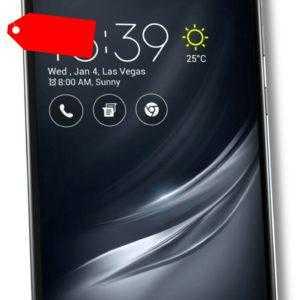Asus ZenFone Smartphone Schwarz AR ZS571KL 5,7 Zoll WQHD...