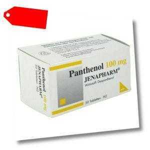 Panthenol 100 mg Jenapharm Tabletten 50stk PZN 06150829