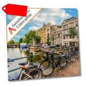 Städtereise Amsterdam A&O Hotel Gutschein 3 - 4 Tage Familienzimmer verfügbar!
