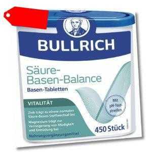 Bullrich Säure-Basen-Balance Basentabletten 450 stk. Tabletten Stoffwechsel