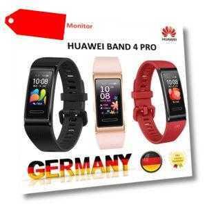 HUAWEI Band 4 PRO AMOLED Smart Watch Fitness Tracker Sport Armband Uhr GPS IP67