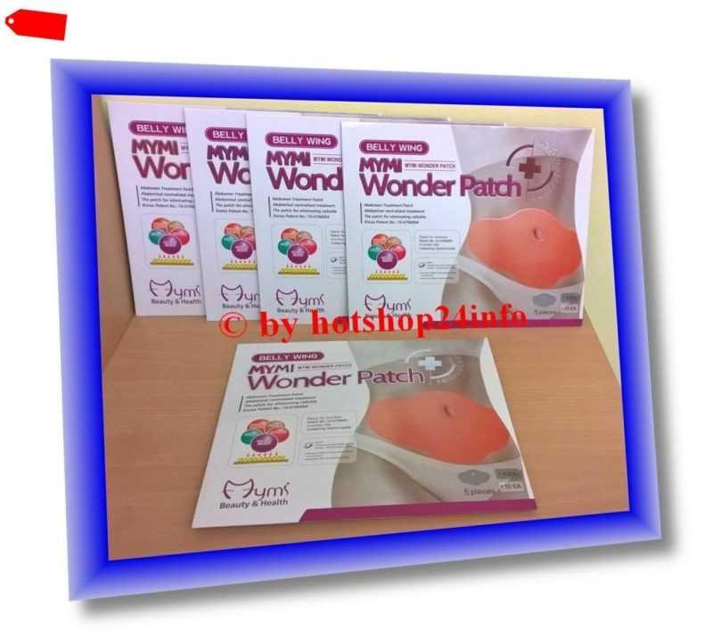25 x MYMI Wonder Patch Abnehmpflaster Belly Wing Diätpflaster Diät Abnehmen