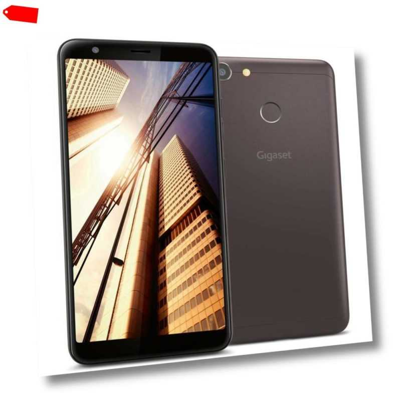 """Gigaset GS280 Smartphone 14,5 cm 5,7"""" Android 8.1 32GB 3GB Ram coffee brown"""