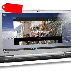 """17,3""""/43,9cm Notebook Lenovo 700-17ISK Intel i5 4x3,2GHz 8GB RAM 256GB SSD W10"""