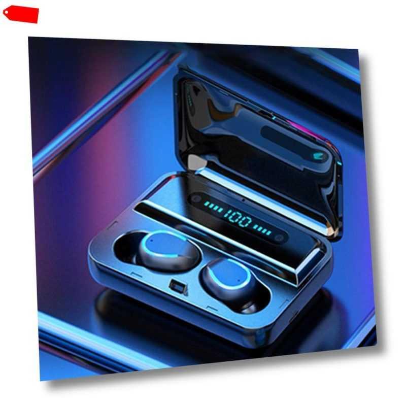 TWS Bluetooth 5.0 Kopfhörer In-Ear Sport Headset LED Anzeige Ohrhörer Ladebox
