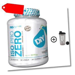 100% Whey Protein Isolat CFM Zero Iso Whey 2270g Shake Eiweißpulver Isolate