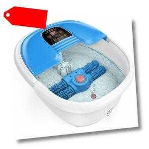 Fußbad Spa elektrisch Fußbecken Fußbad Wanne automatisch Massage-Rad Fußmassage,
