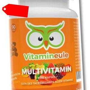 Multivitamin Kapseln - ohne Zusätze - Qualität aus Deutschland - Vitamineule®