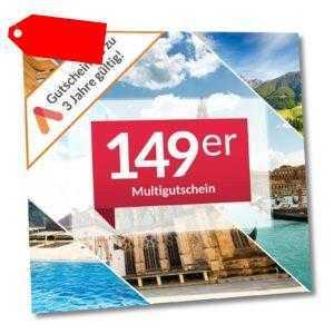 Animod 149er(s) Multi Hotel Gutschein 3 Tage 2 Personen über 90 Hotels zur Wahl