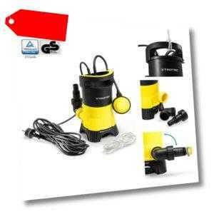 TROTEC Schmutzwasser-Tauchpumpe TWP 4025 E Gartenpumpe Wasserpumpe 400W 7.500L/H